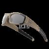 ESS CDI védőszemüveg - Terrain tan átlátszó/füstszürke