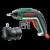 Bosch IXO akkus csavarhúzó Medium készlet – sarokadapterrel