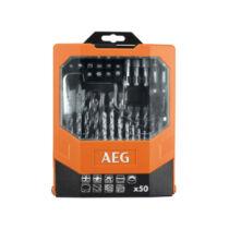 AEG AAKDD50 50db-os fúrócsavarozó szett