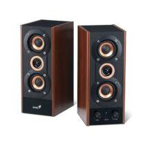 Genius SP-HF800A II 2.0 Fa mintázatú hangszóró