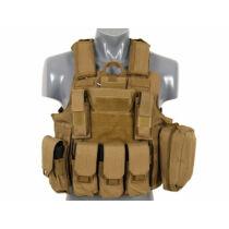 Combat Modular Armor taktikai mellény - Coyote
