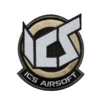 ICS Airsoft patch - barna