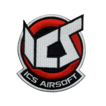ICS Airsoft patch - piros
