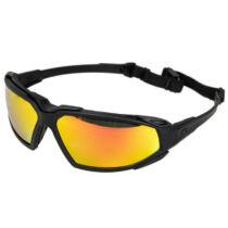 Pyramex Highlander Plus szemüveg - fekete/Sky Red