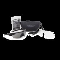 ESS Crosshair 2LS védőszemüveg - fekete átlátszó/füstszürke