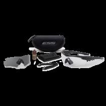 ESS CrossBlade 2LS védőszemüveg - fekete átlátszó/füstszürke