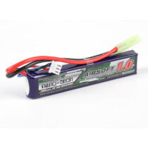 Turnigy nano-tech 1000mAh 2S 20-40C Lipo Airsoft Akku