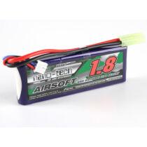 Turnigy nano-tech 1800mAh 3S 20-40C Lipo Airsoft Akku