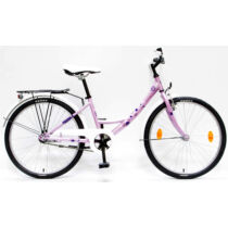 """Csepel Hawaii 24"""" 17 rózsaszín kerékpár"""