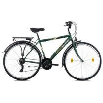 Csepel Landrider 28/21 Sötétzöld férfi trekking kerékpár