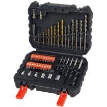 Black + Decker A7188-XJ 50 db-os fúró és csavarozó készlet