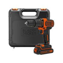 Black + Decker BDCHD18K-QW 18V Ütvefúró kofferben