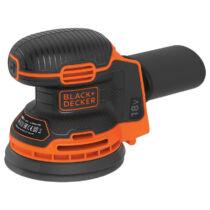 Black + Decker BDCROS18N-XJ 18V Lithium excentercsiszoló akku és töltő nélkül
