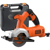 Black + Decker BES510K-QS 400W 85 mm mini körfűrész Kofferban