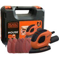 Black + Decker BEW230K-QS 55W Mouse® dekorcsiszoló kofferban