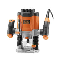 Black + Decker KW1200E-QS Felsőmaró 1200W, 6.35mm
