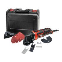 Black + Decker MT300KA-QS 300W Rezgőszerszám tartozékokkal kofferben