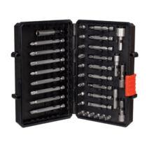 Black + Decker A7202-XJ 38 részes csavarozóhegy szett dugókulcsokkal