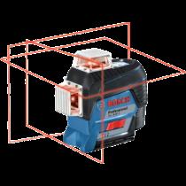 Bosch GLL 3-80 C Vonallézer + BT 150 Professional állvány