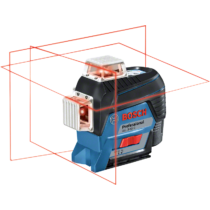 Bosch GLL 3-80 C Vonallézer L-BOXX - akku nélkül