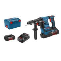 Bosch GBH 36 VF-LI Plus Akkus fúrókalapács SDS plus rendszerrel L-BOXX tárolóban 2 x 4,0 Ah akkuval