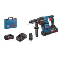 Bosch GBH 36 VF-LI Plus Akkus fúrókalapács SDS plus rendszerrel 2 x 4,0 Ah akkuval