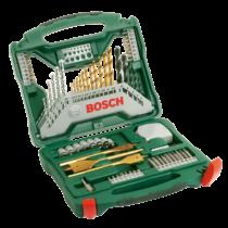 Bosch 70 részes X-Line készlet, titán