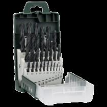 Bosch 19 részes fémfúró készlet, HSS-R, DIN 338