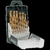 Bosch 25 részes HSS-TiN fémfúrókészlet, DIN 338