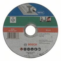 Bosch Egyenes darabolótárcsa 125mm 1,6mm - fém