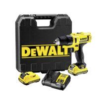 DeWALT DCD710D2-QW 10,8V XR Li-Ion fúró-csavarozó pótakkuval kofferben