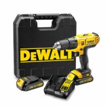 DeWalt DCD771C2-QW 18V XR Li-Ion fúró-csavarozó pótakkuval kofferben