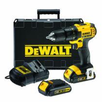 DeWalt DCD780C2-QW 18V XR Li-Ion fúró-csavarozó pótakkuval kofferben