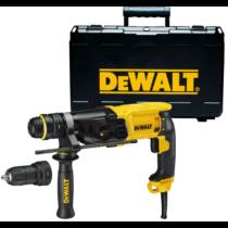 DeWalt D25134K-QS SDS plus fúrókalapács cseretokmánnyal kofferben