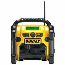 DeWalt DCR020-QW 10.8V-18V FM/AM rádió akku és töltő nélkül