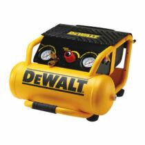 DeWalt DPC10RC-QS 10 literes kompresszor két kivezetéssel és védőráccsal