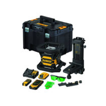 DeWalt DCE080D1GS-QW 18V XR Toolconnect zöld forgólézer
