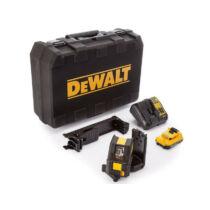 DeWalt DCE088D1G-QW 30m-es, 10.8V Zöld keresztlézer kofferben
