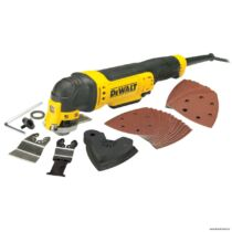 DeWalt DWE315-QS Multi-Tool tartozékokkal