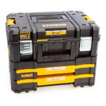 DeWalt DWST83395-1 TSTAK Combo II 2.0 + TSTAK IV  21.5L Szerszámosláda fiókos rendszerrel