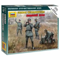 Zvezda German HQ WWII Military small set1:72 (6133)