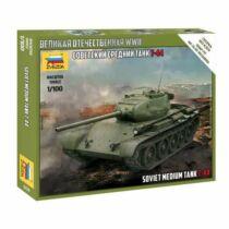 Zvezda T-44 Soviet Tank 1:100