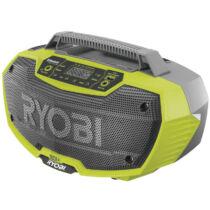 Ryobi R18RH-0 18V Sztereó rádió Blutooth-al akku és töltő nélkül