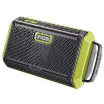 Ryobi RBT18-0 18V Bluetooth hangszóró - akku és töltő nélkül
