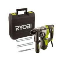 Ryobi RSDS800-KA5 800W SDS+ Fúrókalapács tartozékokkal kofferben