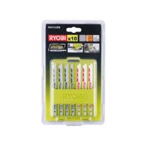 Ryobi RAK10JSB 10 darabos vegyes fűrészlap készlet