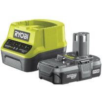 Ryobi RC18120-113 18V, 1.3Ah akku és kompakt töltő