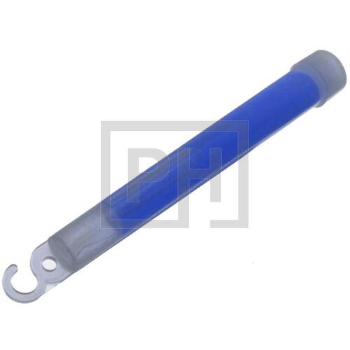 Világító rúd - kék, 15cm