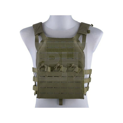 Jump Plate Carrier taktikai mellény/lézer vágott - olive drab