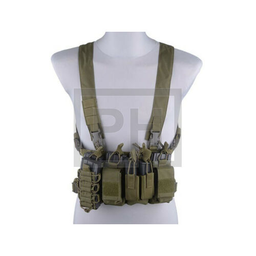 Fast chest rig - olive drab